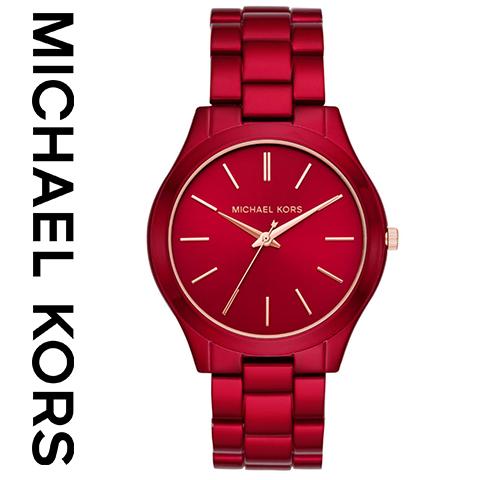 2018最新作 マイケルコース 時計 mIchael kors watch mIchael kors 時計 マイケルコース 腕時計 レディース MK3895 インポート 誕生日 ギフト プレゼント 彼女 ワインレッド 海外取寄せ 送料無料