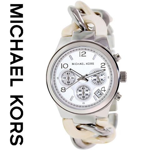マイケルコース 時計 マイケルコース 腕時計 レディース MK4263 インポート 誕生日 ギフト プレゼント 彼女 シルバー ホワイト 海外取寄せ 送料無料