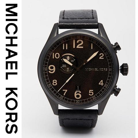 【海外取寄せ】【人気上昇ブランド】マイケルコース Michael Kors 腕時計 時計 MK7069【セレブ】【メンズ】【インポート】【ブラック】MK7068 MK7066 同シリーズ