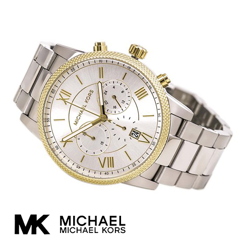 【2015最新作】【海外取寄せ】マイケルコース Michael Kors 腕時計 時計 MK8396 【セレブ】【ブランド】【インポート】【シルバー】MK8393 MK8395 同シリーズ