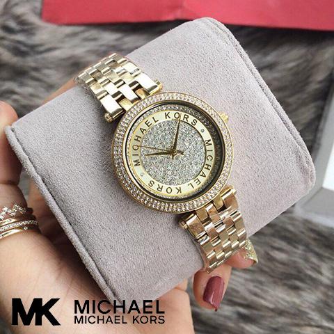 【海外取寄せ】【送料無料】マイケルコース Michael Kors 腕時計 時計 MK3445【ゴールド】【インポート】【ブランド】MK3476 同シリーズ