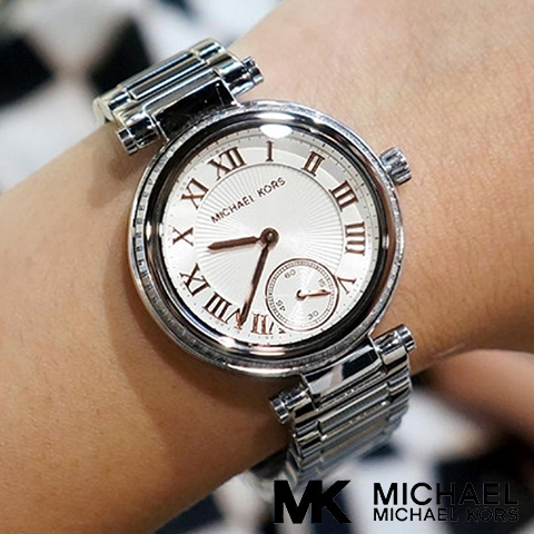 マイケルコース 時計 michael kors watch マイケルコース 腕時計 レディース MK5970 Michael Kors インポート 誕生日 ギフト プレゼント 彼女 シルバー 海外取寄せ 送料無料