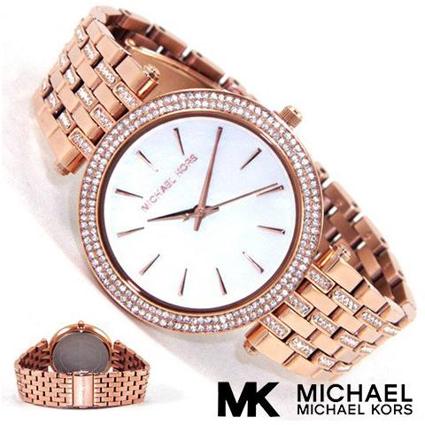 【海外取寄せ】マイケルコース Michael Kors 腕時計 時計 MK3220【セレブ】【ブランド】【インポート】MK3352 MK3219 MK3192 MK3190 MK3353 MK3322 同シリーズ