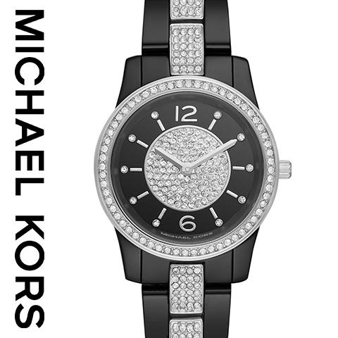 日本未発売 2019最新作 マイケルコース 時計 マイケルコース 腕時計 レディース MK6620 Michael Kors インポート 誕生日 ギフト プレゼント 彼女 ブラック ピンク セラミック 海外取寄せ 送料無料