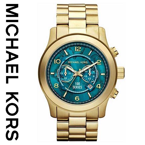 ラスト1点限り マイケルコース 時計 mIchael kors watch mIchael kors 時計 マイケルコース 腕時計 メンズ レディース MK8315 インポート 誕生日 ギフト プレゼント 彼女 彼氏 ゴールド エメラルド あす楽 送料無料