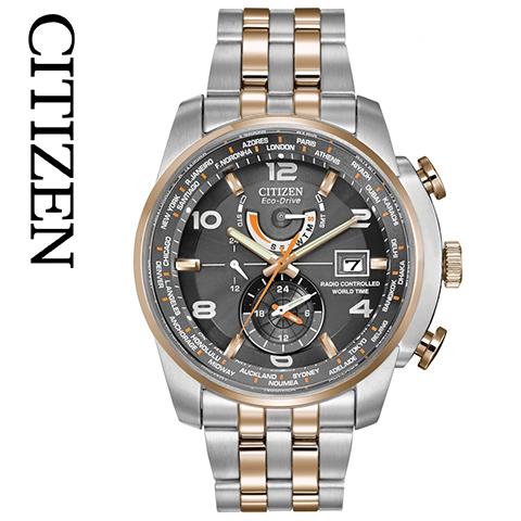 シチズン エコドライブ シチズン ソーラー時計 シチズン 腕時計 ウォッチ メンズ 逆輸入 海外モデル CITIZEN ECO DRIVE AT9016-56H 海外取寄せ 送料無料