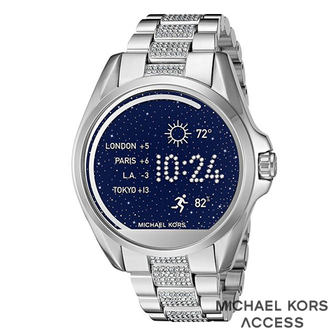 マイケルコース スマートウォッチ レディース マイケルコース 腕時計 マイケルコース 時計 MKT5000 インポート 誕生日 ギフト プレゼント 彼女 防水 iphone Android 対応 シルバー Brandshow 取寄せ 送料無料