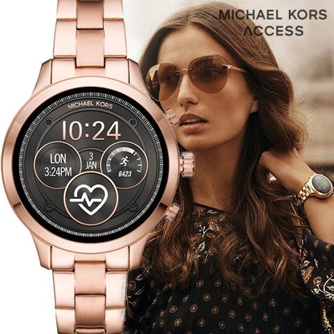 マイケルコース スマートウォッチ レディース メンズ ランウェイ マイケルコース 腕時計 マイケルコース 時計 michael Kors 時計 michael Kors 腕時計 MKT5046 インポート 誕生日 海外取寄せ 送料無料