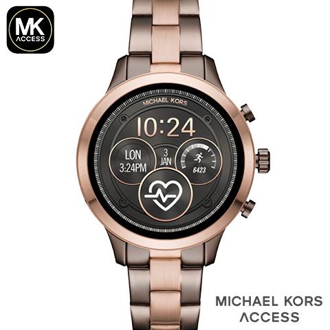 現行最新モデル マイケルコース スマートウォッチ レディース メンズ ランウェイ マイケルコース 腕時計 マイケルコース 時計 michael Kors 時計 michael Kors 腕時計 MKT5047 インポート 誕生日 ギフト プレゼント 彼女 防水 iphone Android 対応 海外取寄せ 送料無料
