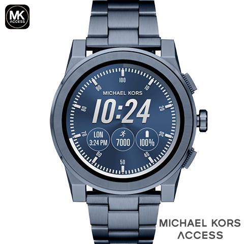 マイケルコース スマートウォッチ メンズ マイケルコース 腕時計 マイケルコース 時計 GRAYSON グレイソン MKT5026 MKT5025 MKT5029 MKT5038 MKT5028 MKT5037 インポート 誕生日 ギフト iphone Android 対応 ゴールド シルバー ブラック ネイビー カーキ 海外取寄せ