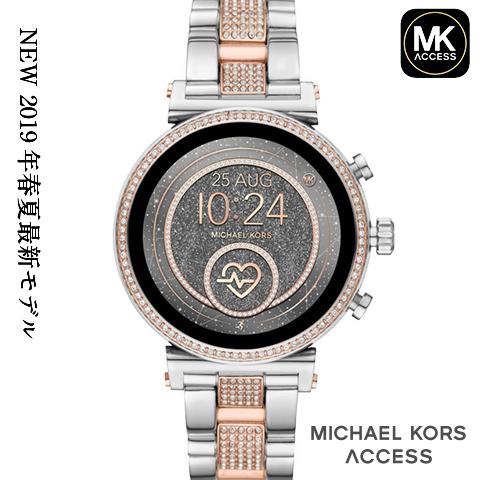【キャッシュレス決済5%還元】 2019春夏最新モデル マイケルコース スマートウォッチ レディース マイケルコース 腕時計 マイケルコース 時計 MKT5068 MKT5069 MKT5067 MKT5064 MKT5066 シルバー ピンクゴールド 海外取寄せ 送料無料