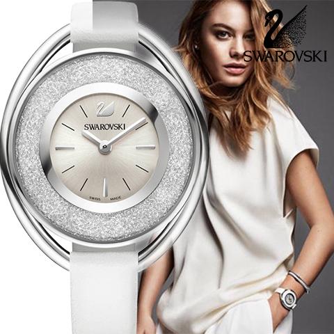 ラスト1点限り 1700個のクリイスタル スイスメイド スワロフスキー 時計 レディース スワロフスキー 腕時計 SWAROVSKI 時計 SWAROVSKI 腕時計 5158548 スワロフスキークリスタル ホワイト スワロフスキー ネックレス や スワロフスキー ピアスのお供に あす楽 送料無料