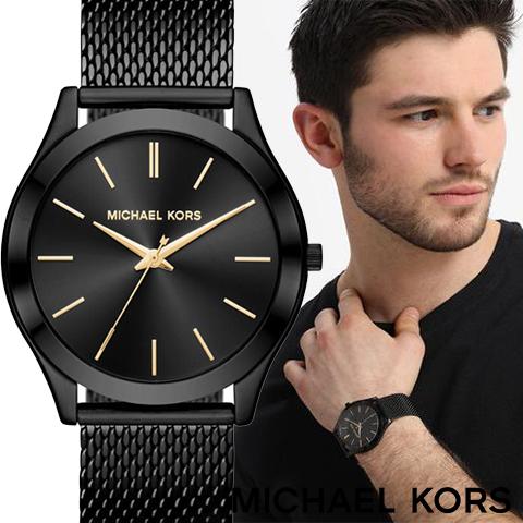 マイケルコース 時計 マイケルコース 腕時計 メンズMK8607 インポート Slim Runway 誕生日 ギフト プレゼント 彼氏 海外取寄せ 送料無料