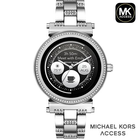 マイケルコース スマートウォッチ レディース マイケルコース 腕時計 マイケルコース 時計 MKT5036  インポート 誕生日 ギフト プレゼント 彼女 iphone Android 対応 ゴールド SOFIE ソフィー お取寄せ