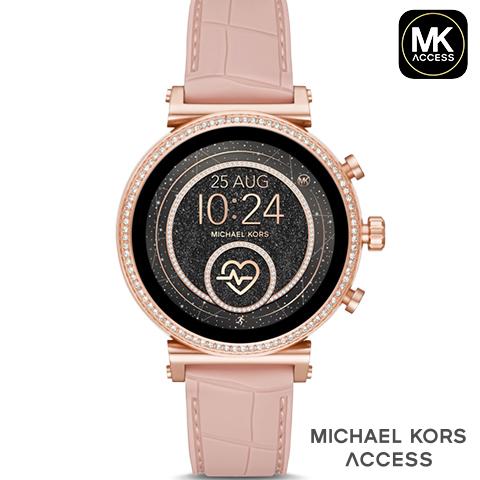 【キャッシュレス決済5%還元】 2019春夏最新モデル マイケルコース スマートウォッチ レディース マイケルコース 腕時計 マイケルコース 時計 MKT5068 MKT5069 MKT5067 MKT5064 MKT5066 ピンク ピンクゴールド 海外取寄せ 送料無料
