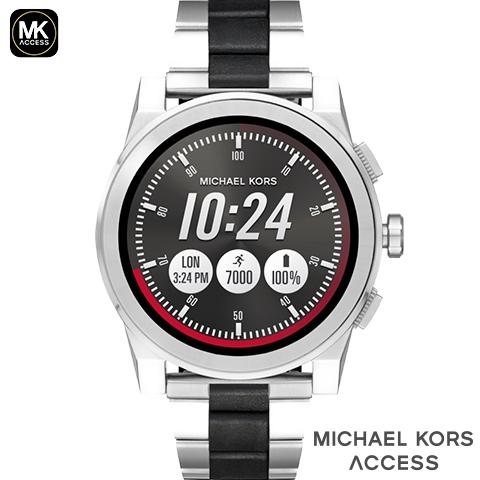 マイケルコース スマートウォッチ メンズ マイケルコース 腕時計 マイケルコース 時計 GRAYSON グレイソン MKT5026 MKT5025 MKT5029 MKT5038 MKT5028 MKT5037 インポート 誕生日 ギフト iphone Android 対応 ゴールド シルバー ブラック ネイビー カーキ 海外取寄せ 送料無料