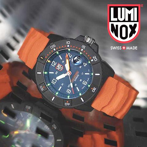 【今だけ限定SALE】【キャッシュレス決済5%還元】ルミノックス 時計 メンズ ルミノックス 腕時計 LUMINOX 時計 LUMINOX 腕時計 3600シリーズ Navy SEAL Colormark 45mm 200m防水 オレンジ 海外取寄せ 送料無料