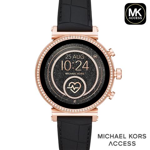【スーパーセール】【キャッシュレス決済5%還元】送料無料 2019春夏最新モデル マイケルコース スマートウォッチ レディース マイケルコース 腕時計 マイケルコース 時計 MKT5068 MKT5069 MKT5067 MKT5064 MKT5066 ブラック ピンクゴールド