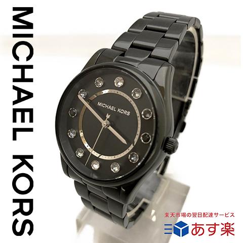 ラスト1点限り 【キャッシュレス決済5%還元】マイケルコース 時計 mIchael kors watch mIchael kors 時計 マイケルコース 腕時計 レディース MK6606 ブラック 誕生日 ギフト プレゼント 彼女 あす楽 送料無料