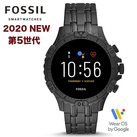 2020年最新モデル【第5世代】【米国FOSSIL直営店品】【キャッシュレス決済5%還元】フォッシル タッチスクリーンスマート ウォッチ メンズ フォッシル 腕時計 Fossil スマートウォッチ Fossil 腕時計 ジェネレーション5 インポート FTW4038P FTW4038 海外取寄せ 送料無料