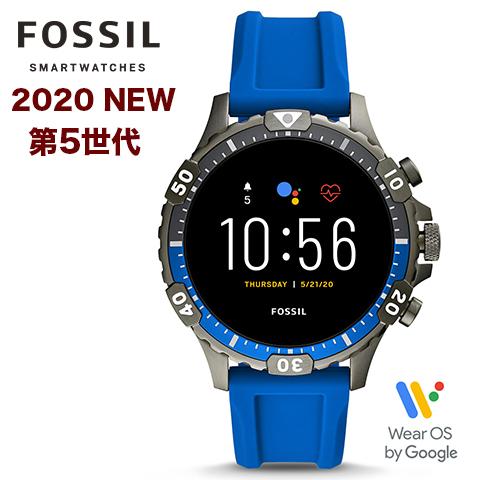 2020年最新モデル【第5世代】【米国FOSSIL直営店品】【キャッシュレス決済5%還元】フォッシル タッチスクリーンスマート ウォッチ メンズ フォッシル 腕時計 Fossil スマートウォッチ Fossil 腕時計 ジェネレーション5 インポート FTW4042P FTW4042 海外取寄せ 送料無料