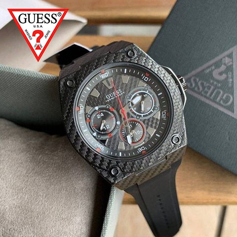 【キャッシュレス決済5%還元】ゲス 時計 メンズ ゲス 腕時計 GUESS 時計 GUESS 腕時計 レディース W1048G2 W1049G2 人気 ブランド 男性 彼氏 夫 プレゼント かっこいい おしゃれ ブラック 海外取寄せ 送料無料