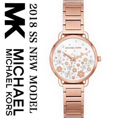 2018最新作 マイケルコース 時計 マイケルコース 腕時計 Michael Kors レディース MK3841 インポート 2018春夏最新作 海外取寄せ