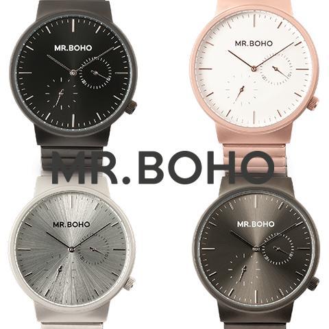 正規店買付け品 日本未発売 ミスターボーホー 時計 MR.BOHO 腕時計 レディース メンズ MULTIFUNCTION マルチファンクション 海外取寄せ 送料無料