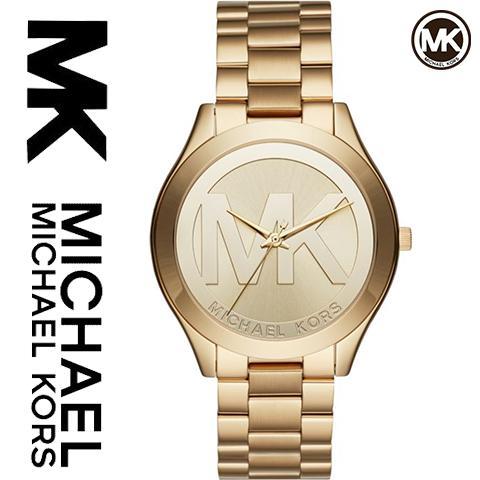マイケルコース 時計 マイケルコース 腕時計 レディース MK3739 インポート ゴールド MKマーク 海外取寄せ 送料無料