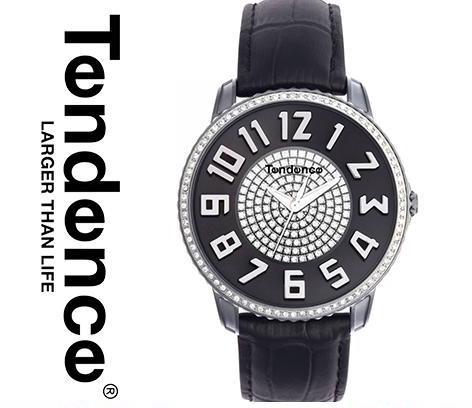 テンデンス 時計 腕時計 TENDENCE テンデンス メンズ レディース TG132006 TE132006 インポート スリム LIM 41 ブラック TG132005 TE132005 同シリーズ 海外取寄せ 送料無料