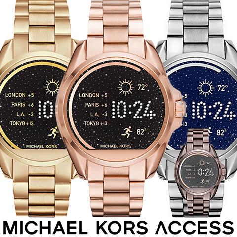 日本語対応 マイケルコース スマートウォッチ レディース マイケルコース 腕時計 時計 MKT5001 MKT5004 MKT5012 インポート 誕生日 ギフト プレゼント iphone Android 対応 ゴールド ピンクゴールド シルバー ブラック 送料無料