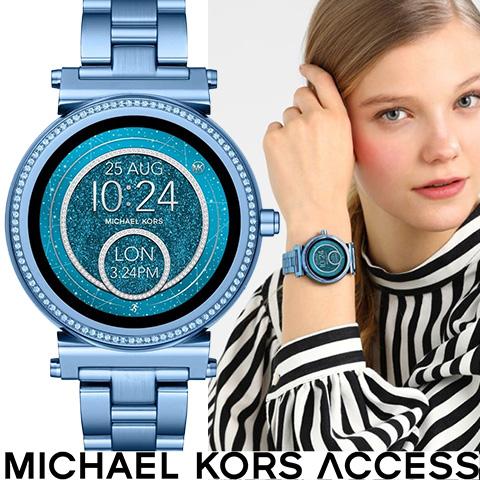 a329894ebae5 NEW 2018最新作 日本未発売 マイケルコース 時計 スマートウォッチ マイケルコース 腕時計 レディース MKT5042