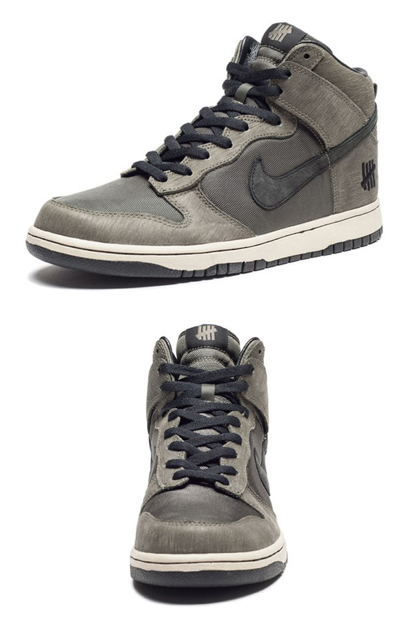 NIKE DUNK PRM HI UNDFTD SP (598472-220) DEEP GREEN/DARK LODEN