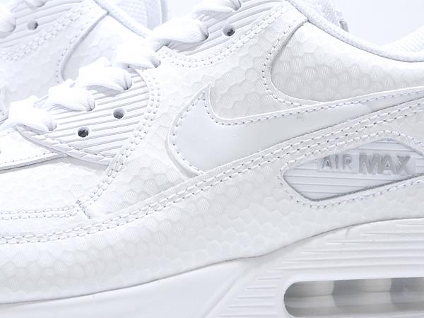 NIKE WMNS AIR MAX 90 PREM (443817-101) WHITE/WHITE