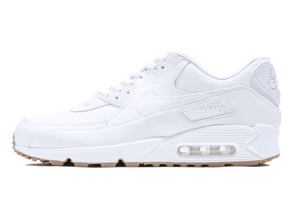 NIKE AIR MAX 90 LEATHER PA (705012-111) WHITE/WHITE-GUM LIGHT BROWN