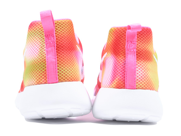 NIKE ROSHERUN FLIGHT WEIGHT GS (705486-601) PINK POW/WHITE