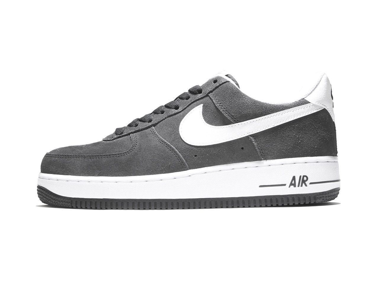 NIKE AIR FORCE 1'07 (315122-067) ANTHRACITE/WHITE