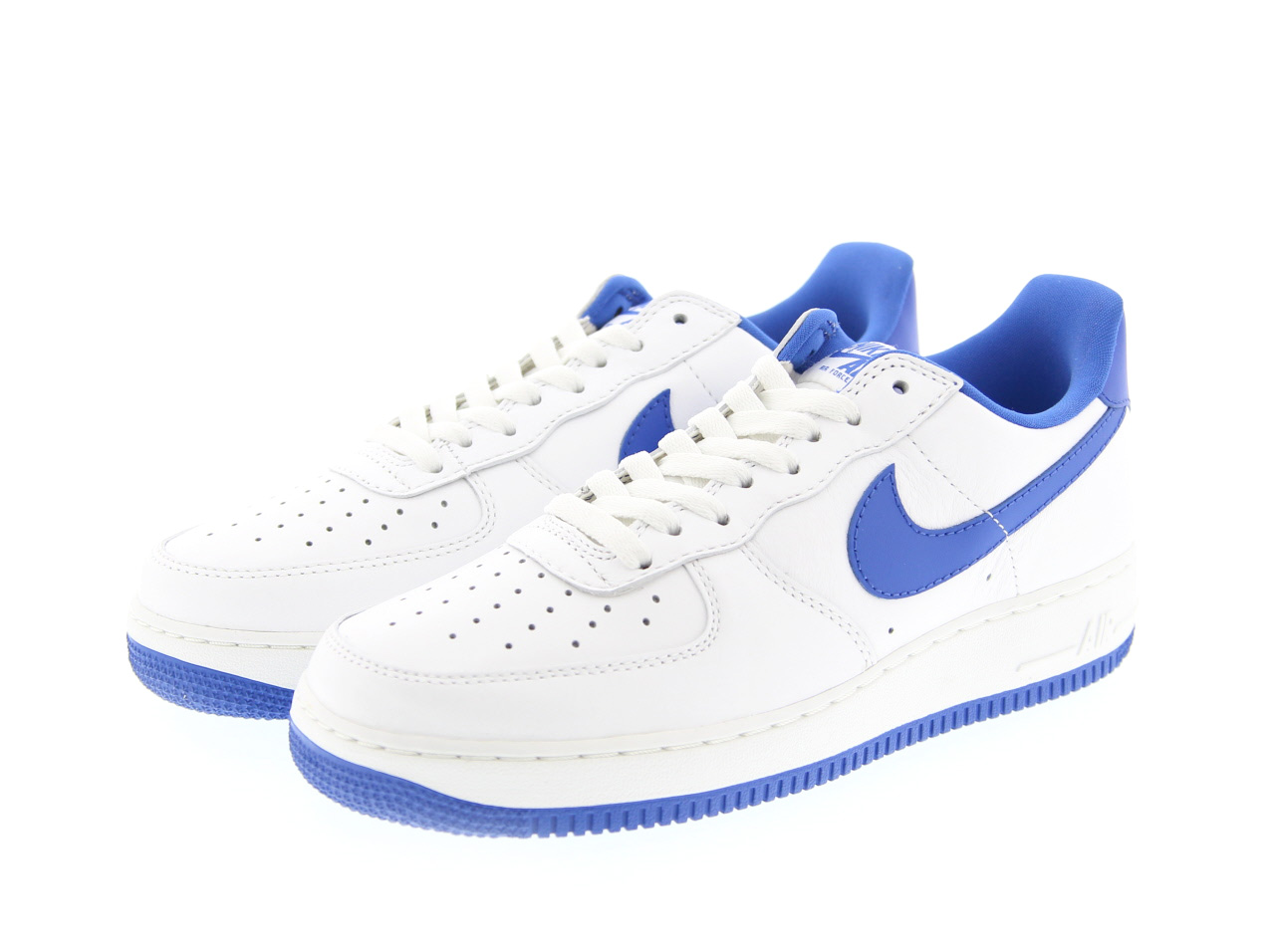 NIKE AIR FORCE 1 LOW RETRO(845053-102)峰會白/遊戲皇家