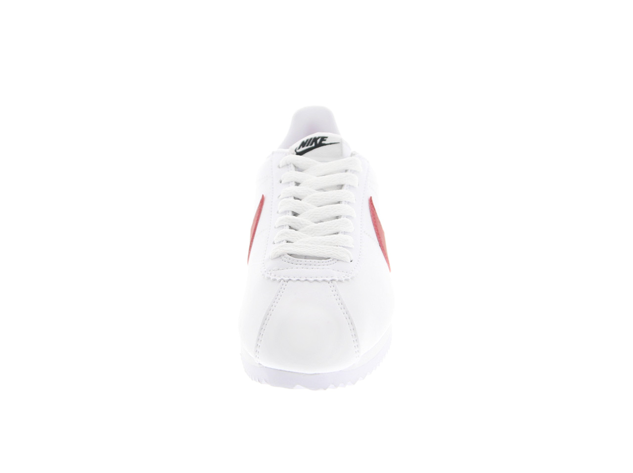 NIKE WMNS CLASSIC CORTEZ LEATHER(807471-103)白/酒吧城紅/酒吧城皇家