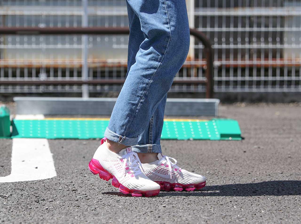 【全品ポイント10倍!期間限定★今すぐエントリー!(4/1~4/30)】【4/11発売】 NIKE WMNS AIR VAPORMAX FLYKNIT 3(AJ6910-005)【ナイキ】【メンズファッション】【シューズ】【スニーカー】【靴】【フットウェア】