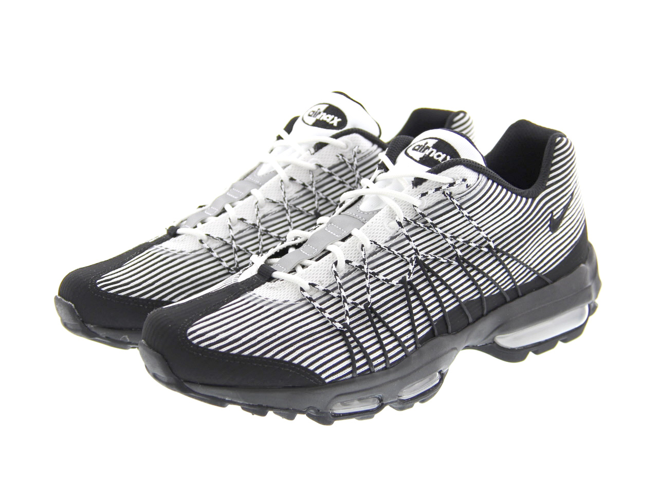 NIKE AIR MAX 95 ULTRA JCRD (749771-101) WHITE/BLACK-METALLiC SILVER