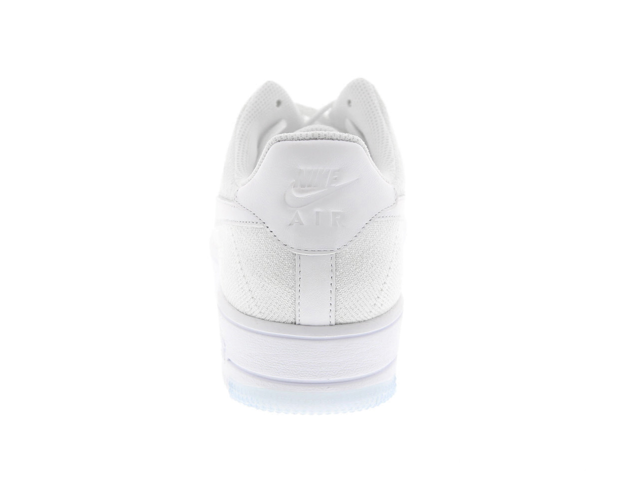 NIKE AIR FORCE 1 ULTRA FLYKNIT LOW (817419-100) WHITE/WHITE-ICE