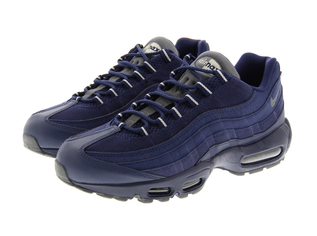 NIKE AIR MAX 95 ESSENTIAL (749766-404) LOYAL BLUE/DARK GREY-LGHT BONE