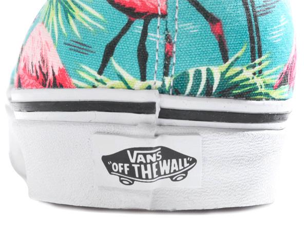 VANS AUTHENTIC (VN-0ZUKFP4) (Van Doren)Turquoise/Flamingo