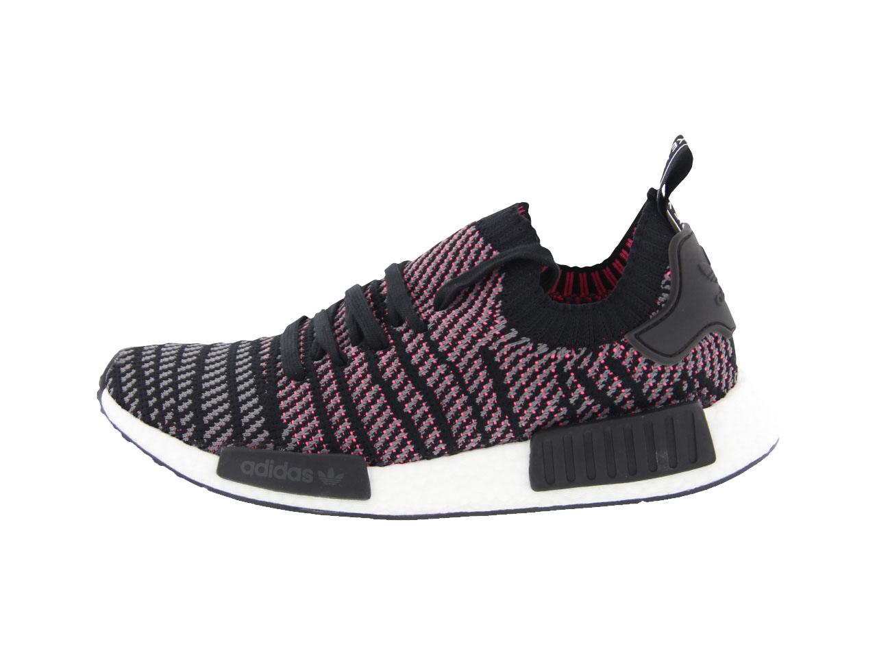 【全品ポイント10倍!期間限定★今すぐエントリー!(4/1~4/30)】adidas Originals NMD_R1 STLT PK(cq2386)Core Black / Gray Fore F17/ Solar Pink【バーゲン】