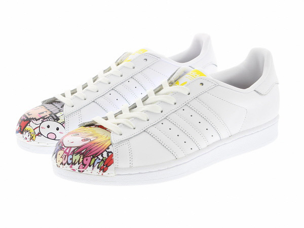 adidas SUPERSTAR SUPERSHELL (S83354) FTWWHT/FTWWHT/YELLOW