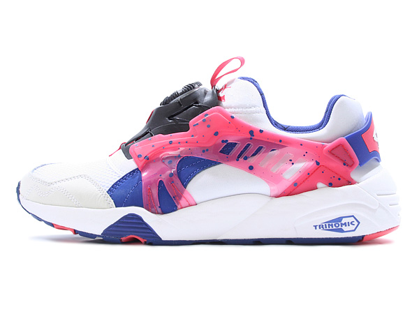 undefeated | Rakuten Global Market: PUMA DISC BLAZE COASTAL (358135-01)  WHITE-MAZARINE BLUE