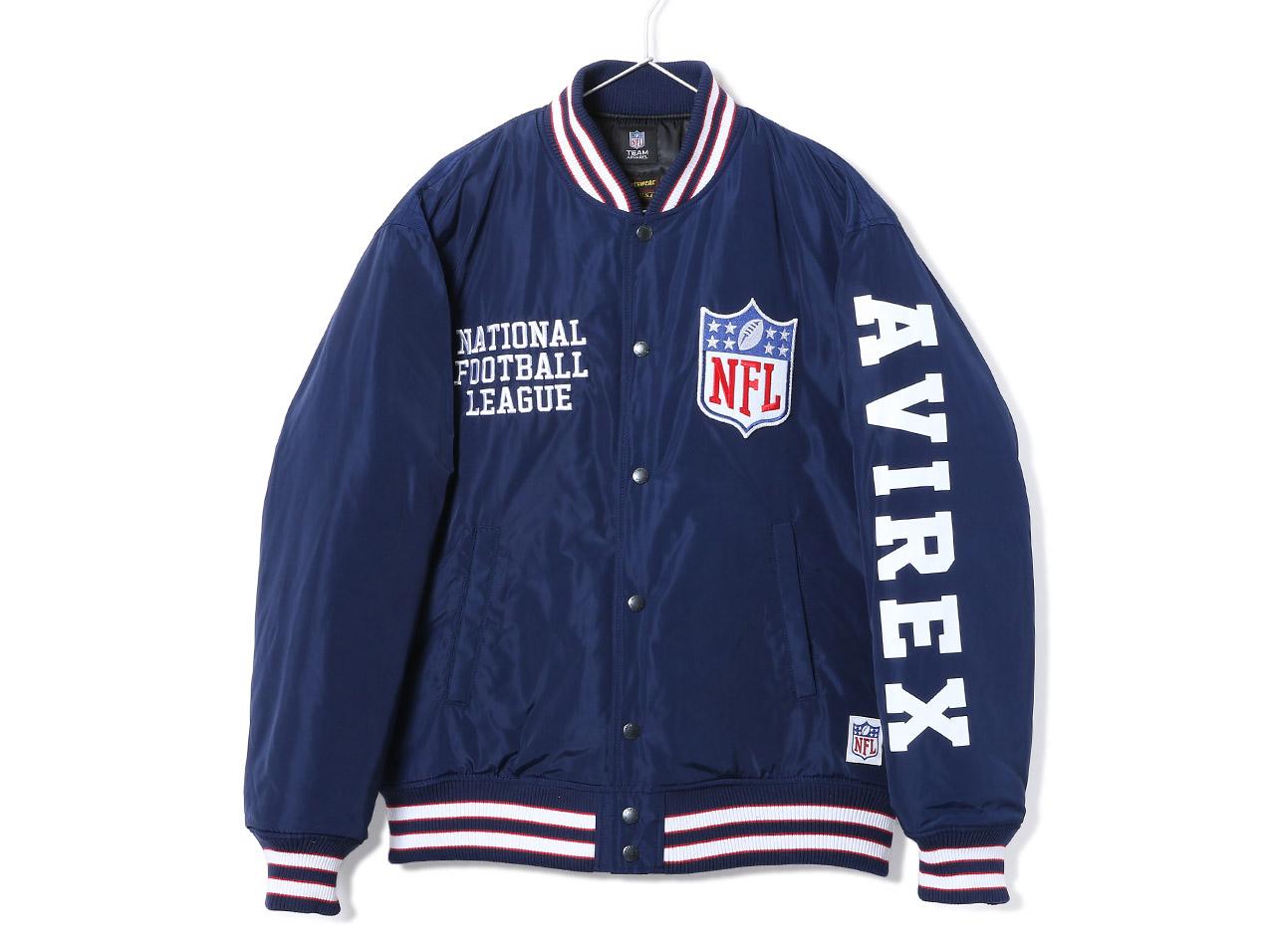 AVIREX NFL STADIUM JUMPER NFL(6192180)【アヴィレックス】【メンズファッション】【アウター】【ジャケット】【スタジャン】【レイダース】【NFL】