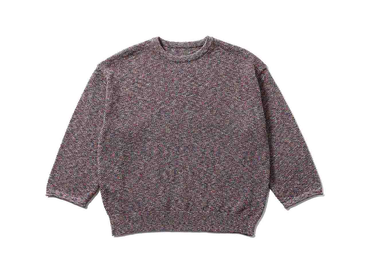 【10%OFF!】crepuscule multicolor moss stitch(2001-003)【クレプスキュール】【メンズファッション】【トップス】