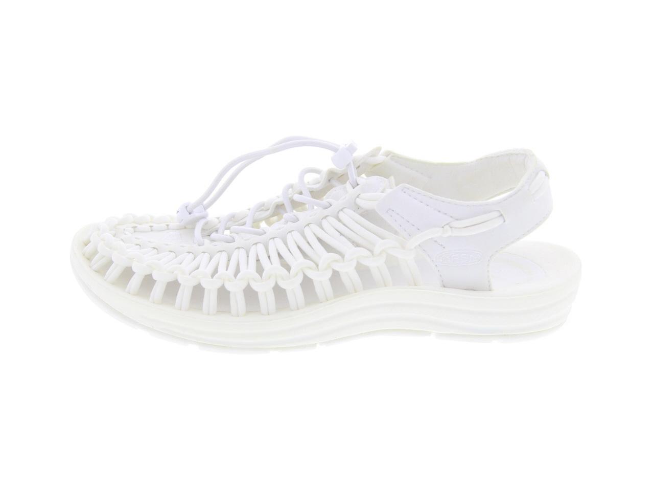 KEEN UNEEK W-STAR WHITE(1014100)【キーン ユニーク Wスター ホワイト】【レディースファッション】【シューズ】【靴】【スライド】【フットウェア】